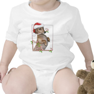 Dachshund Lilly's Candy Canes T-shirts