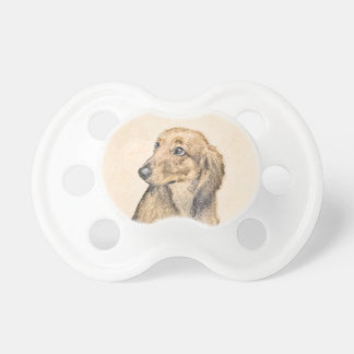 Dachshund (Longhaired) 2 Pacifier