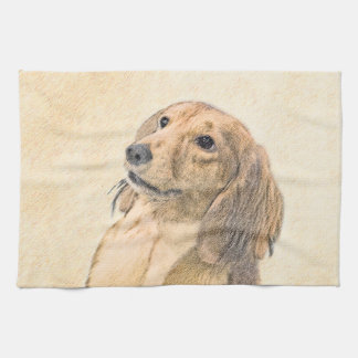 Dachshund (Longhaired) Hand Towels