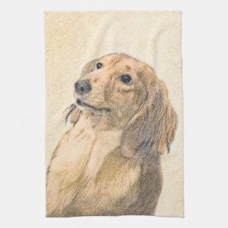 Dachshund (Longhaired) Kitchen Towel