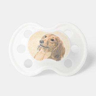 Dachshund (Longhaired) Pacifier