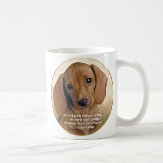Dachshund Love Coffee Mug
