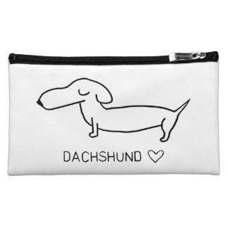 Dachshund Love Cosmetic Bag