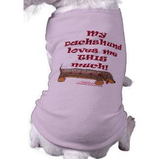 Dachshund Love Doggie T-shirt