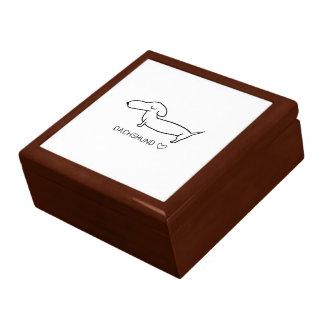 Dachshund Love Gift Box