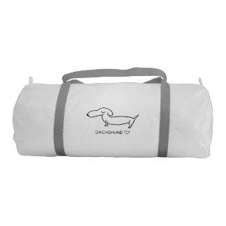 Dachshund Love Gym Bag