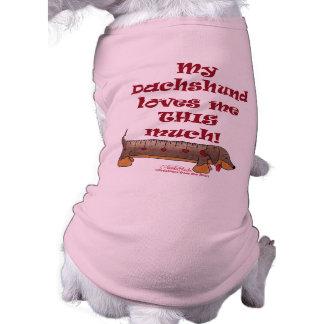 Dachshund Love Meter Shirt