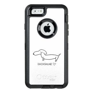 Dachshund Love OtterBox Defender iPhone Case
