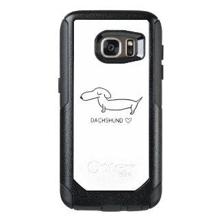 Dachshund Love OtterBox Samsung Galaxy S7 Case