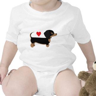 Dachshund Love Baby Creeper