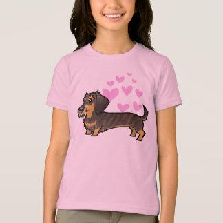 Dachshund Love (wirehair) T-Shirt