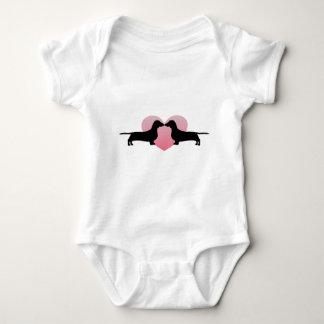 Dachshund Lovers Baby Bodysuit