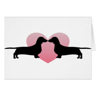 Dachshund Lovers Greeting Cards