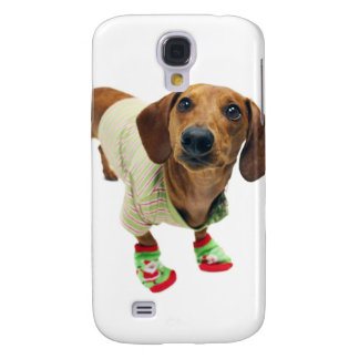 Dachshund - merry christmas - cute dog