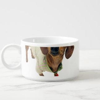 Dachshund - merry christmas - cute dog bowl