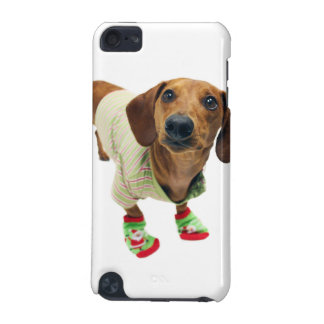 Dachshund - merry christmas - cute dog iPod touch (5th generation) covers