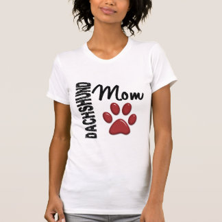 Dachshund Mom 2 T Shirts