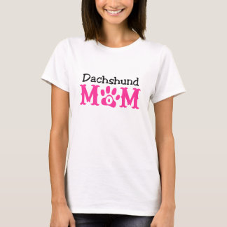Dachshund Mom Apparel T-Shirt