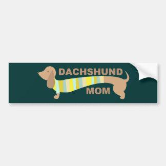 Dachshund Mom Bumper Sticker