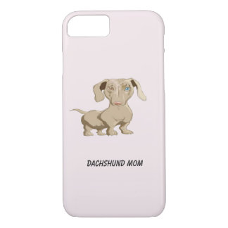 Dachshund Mom iPhone 8/7 Case