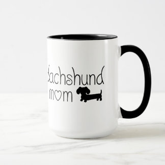 Dachshund Mom Mug for Wiener Dog Lovers