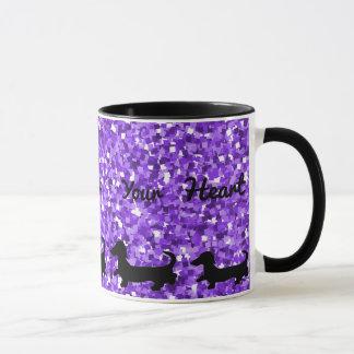 Dachshund Mug Doxie Gift Wiener Dog Silhouette