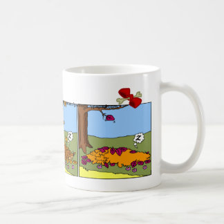 Dachshund Mug: Fall Coffee Mug