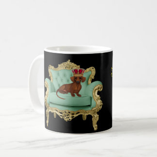 Dachshund Mug King Wiener Dog Doxie Gift