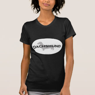 Dachshund Oval T-Shirt