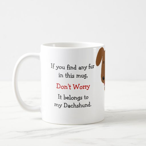 Dachshund Owner Humor Coffee Mugs
