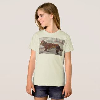 Dachshund Painting Children's T-Shirt