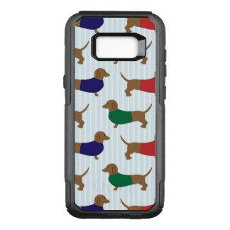 Dachshund Pattern Otterbox Samsung S8 Case