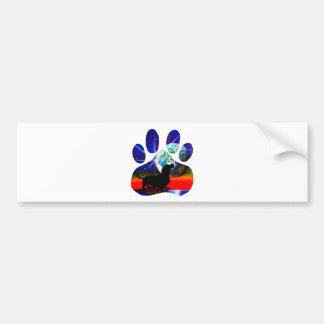 Dachshund Paw Bumper Sticker