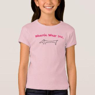 Dachshund-Picasso-Sketch[1], Weenie Wear Inc. T-Shirt