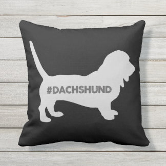 #DACHSHUND PILLOW