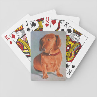 Dachshund Playing Cards