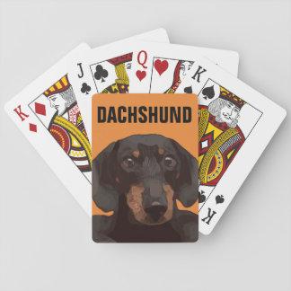 DACHSHUND PLAYING CARDS