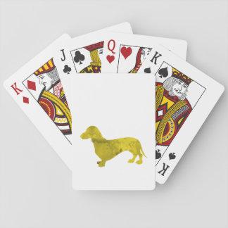 Dachshund Poker Deck