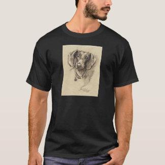 Dachshund portrait T-Shirt