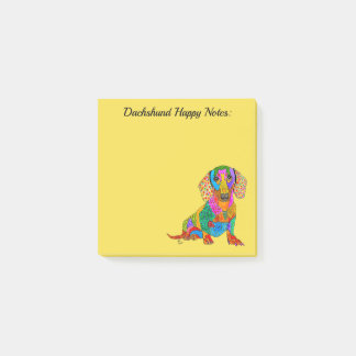 Dachshund Post-it Notes