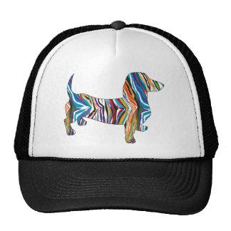 Dachshund - Psychedelic Zbra Doxie Trucker Hat