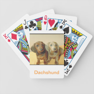 Dachshund Puppies Dog Playing Cards