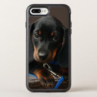Dachshund puppy OtterBox symmetry iPhone 8 plus/7 plus case