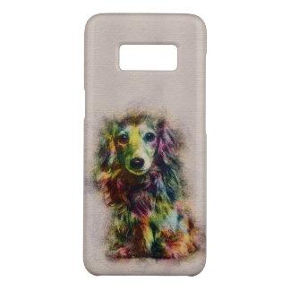 Dachshund Puppy Sketch Paint Case-Mate Samsung Galaxy S8 Case