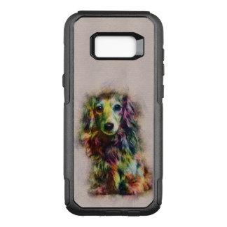 Dachshund Puppy Sketch Paint OtterBox Commuter Samsung Galaxy S8+ Case