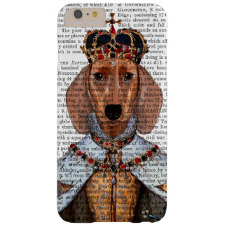 Dachshund Queen 2 Barely There iPhone 6 Plus Case