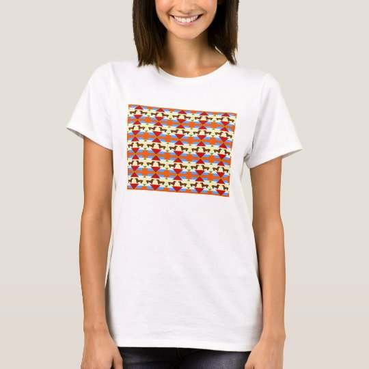 Dachshund Quilt Rectangle T-Shirt
