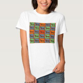 Dachshund Quilt T Shirt