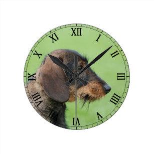 Dachshund Wall Clocks Zazzle Ca