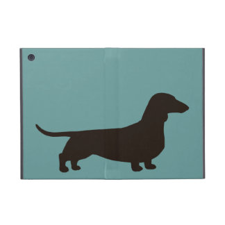 Dachshund Silhouette iPad Mini Covers